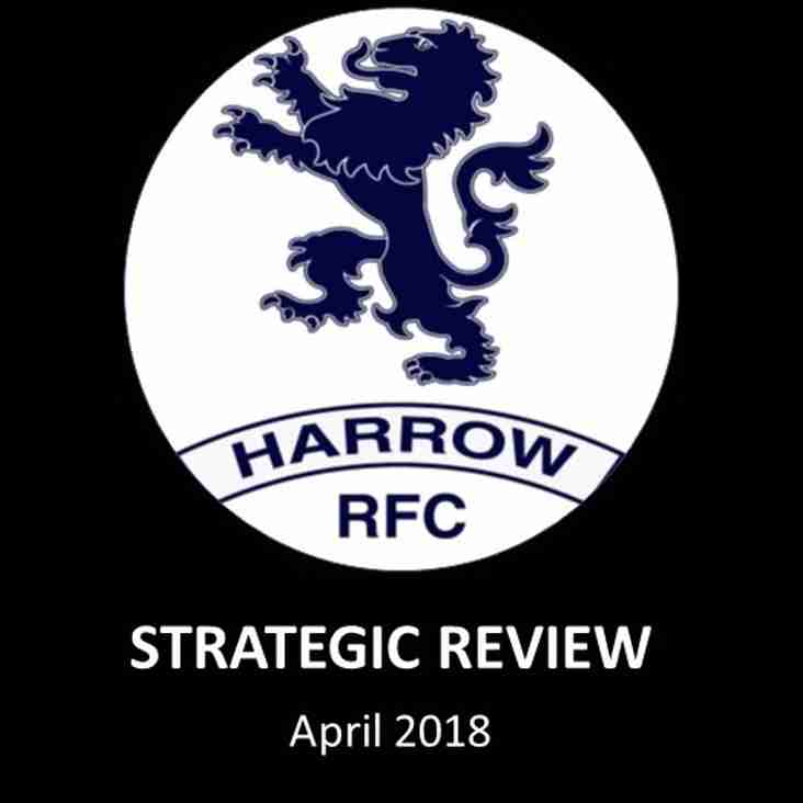 Strategic review identifies way forward for Harrow RFC