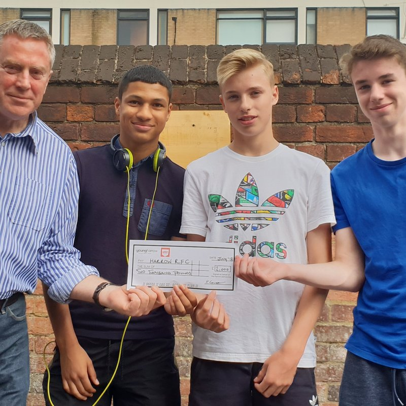 Club wins award to start community physical activity programme for young people