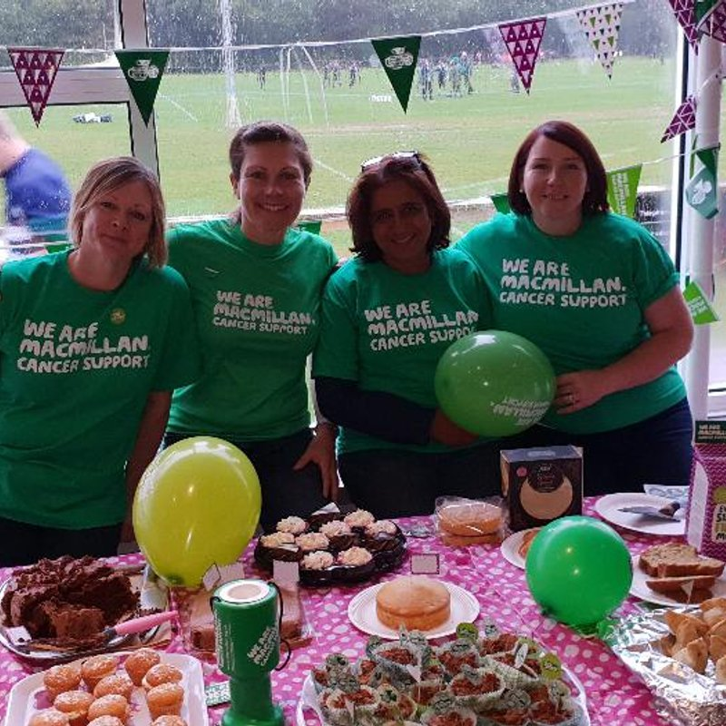 Successful Macmillan Coffee Morning at the club!