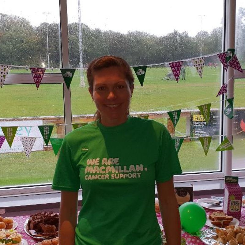 Club gets behind Macmillan Cancer Support fundraiser Tasha Ghinn