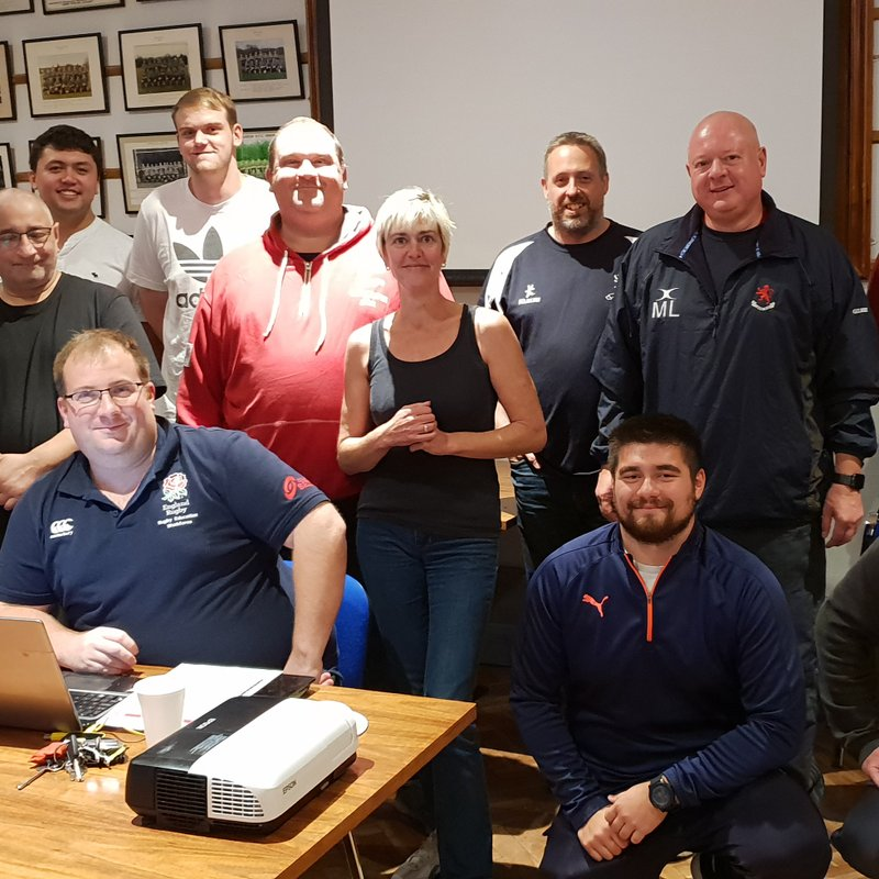 More  First Aiders for Harrow at RFU course held at the club