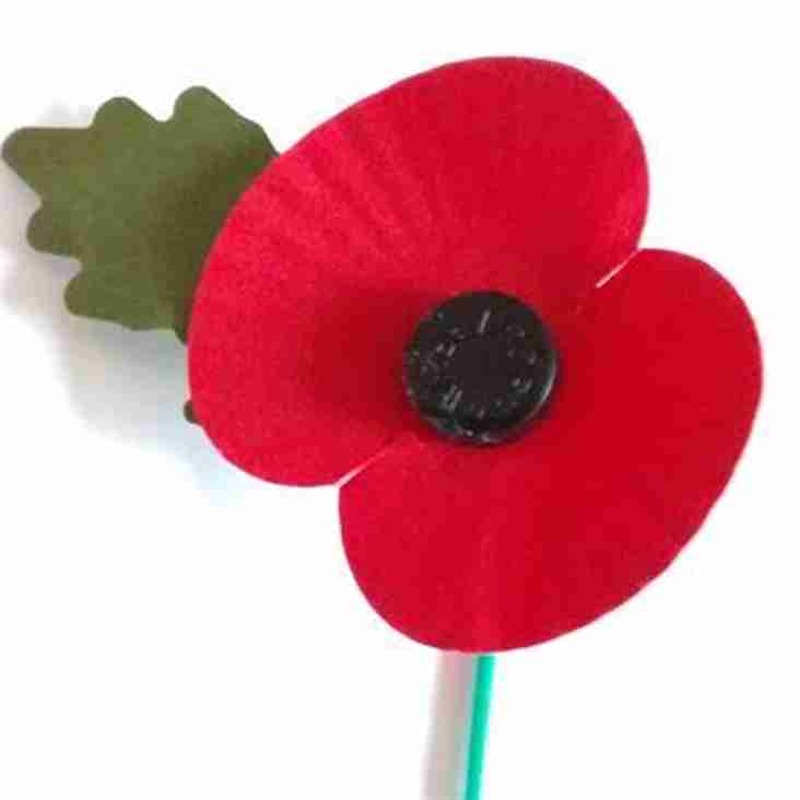 Remembrance Day at the club - Sunday 11th November