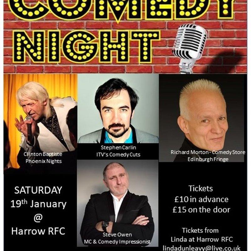 Brilliant Comedy Night was a sellout