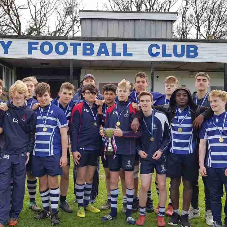 Harrow U16s finish off a great season