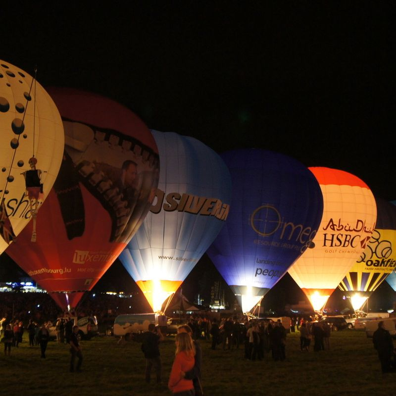 Balloon Fiesta Camping 2017