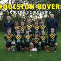 Chorley vs. Woolston Rovers (Wizards) RL Club U9 Golds