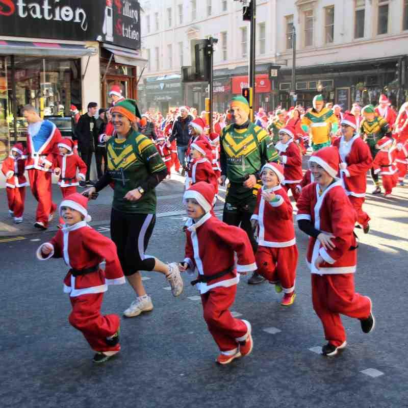 U7's Newbies Santa Dash 2016