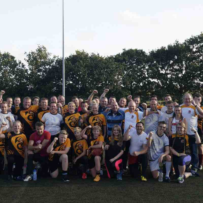 Summer Touch Rugby Series 2015, Week 1 @ SJR