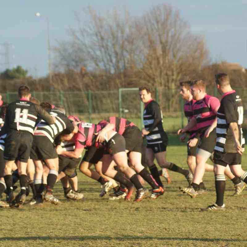Thurrock III 24 - 29 Mavericks 1st XV