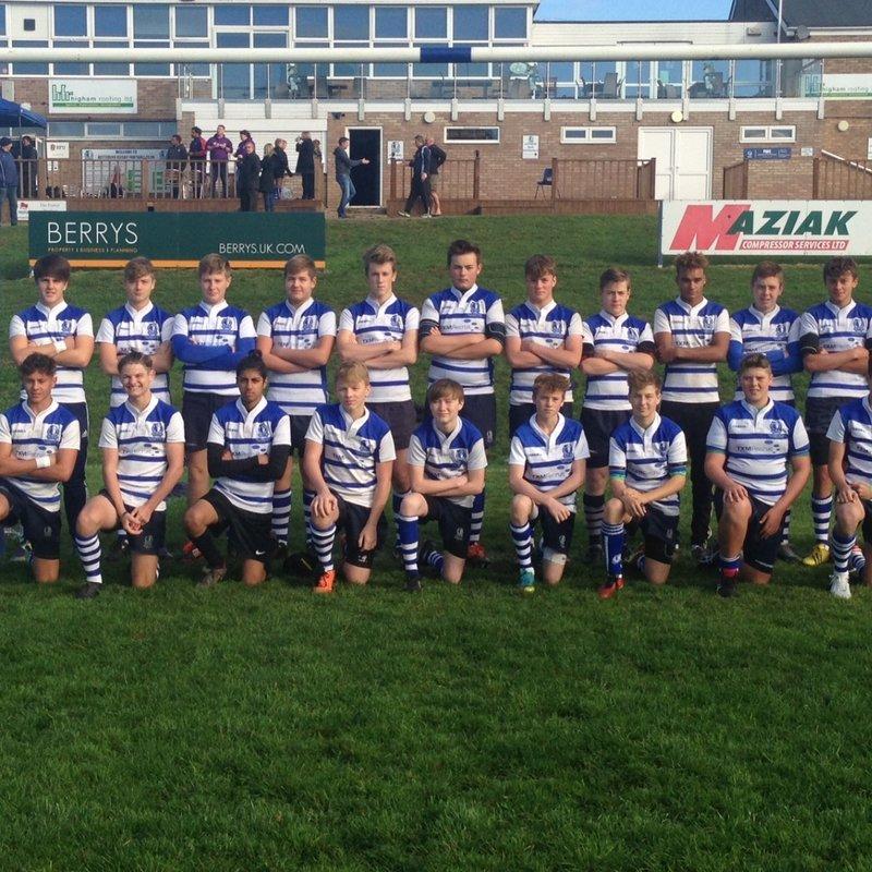 Under 15 XV beat Wellingborough RFC 19 - 12