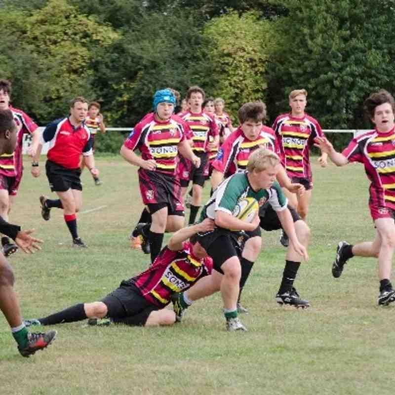 Slough Spartans vs Aylesbury B 080913