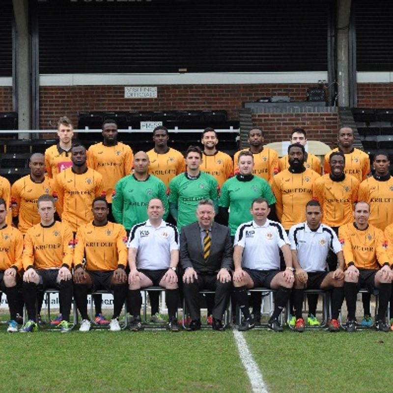 Cray Wanderers lose to Hastings United 1 - 4