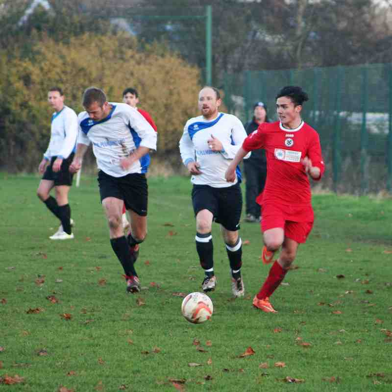 vs Louth Old Boys Vets 26/11