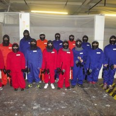 PAINT-BALLING IN ROCHDALE