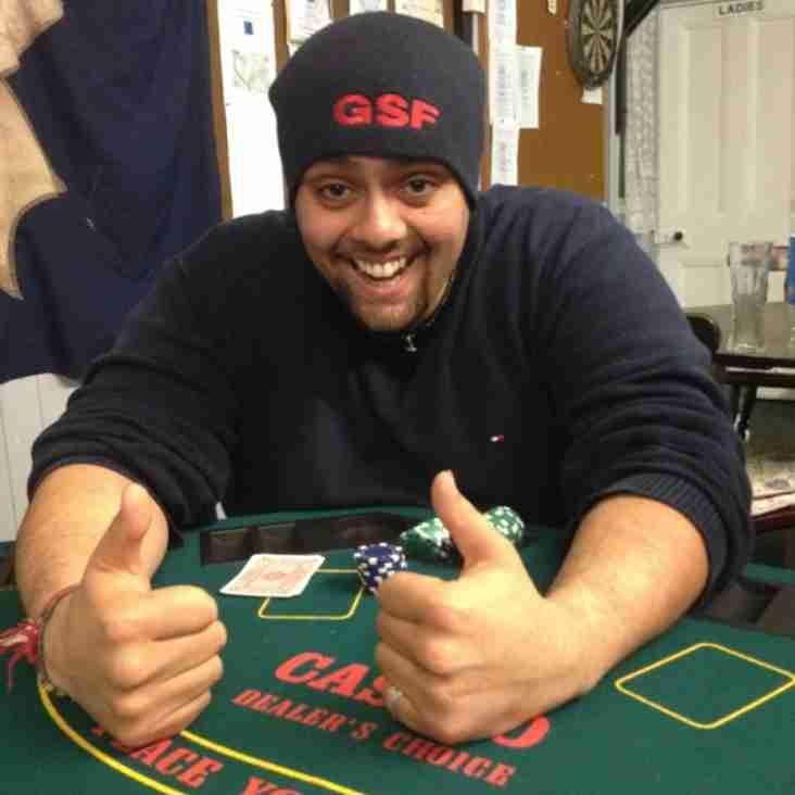Poker & Pizza Night Saturday the 11th October 2014 7pm