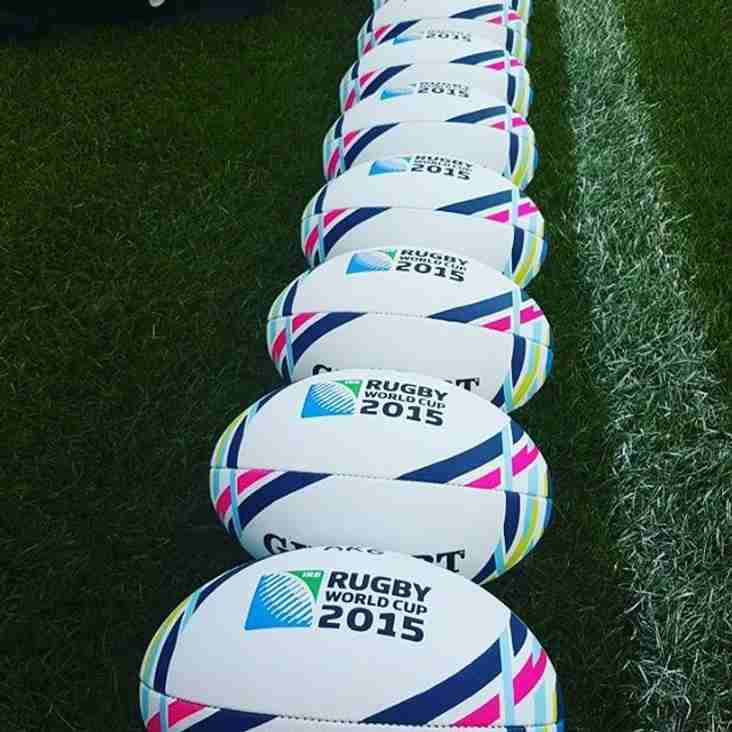 Saturday Rugby World Cup 2015 @ the Clubhouse.