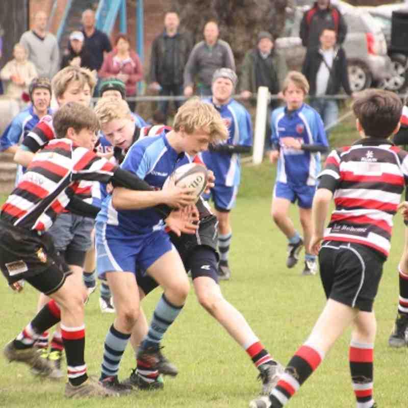 2013 Cheshire Final U13 v AK U13s