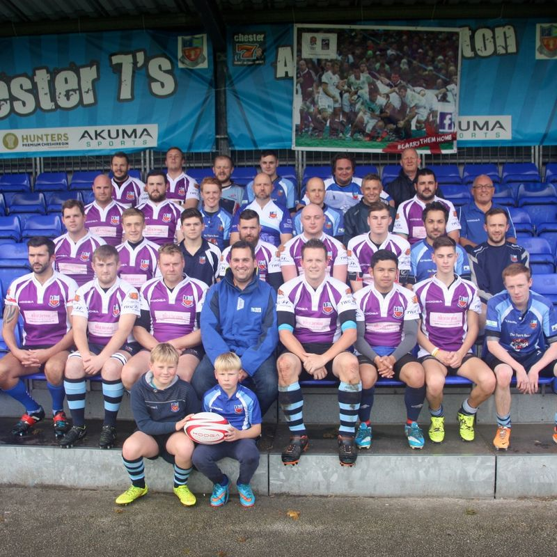 3rd XV beat Oswestry 2 7 - 33