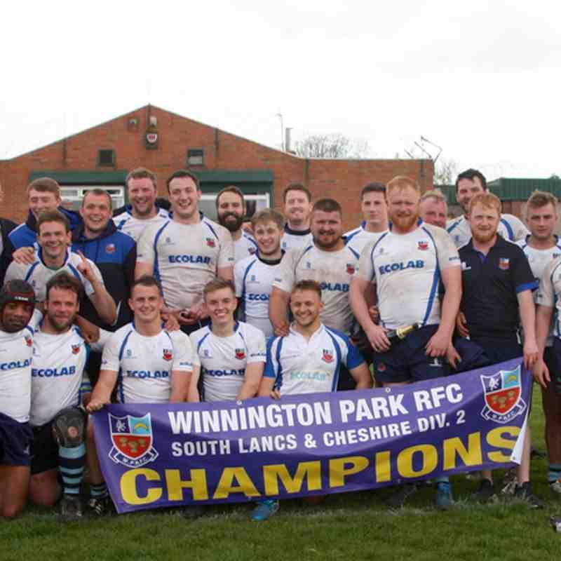South Lanc/Cheshire 2 Champions(2)