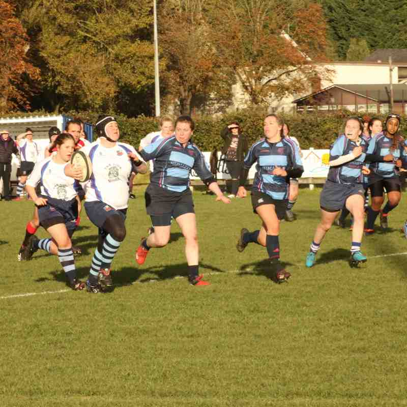 28102018 Ladies v Liverpool Collegiate