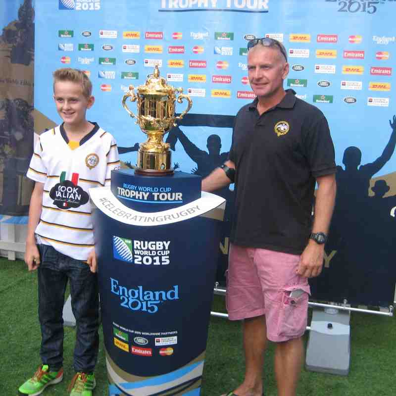 World Cup Trophy Tour 2015