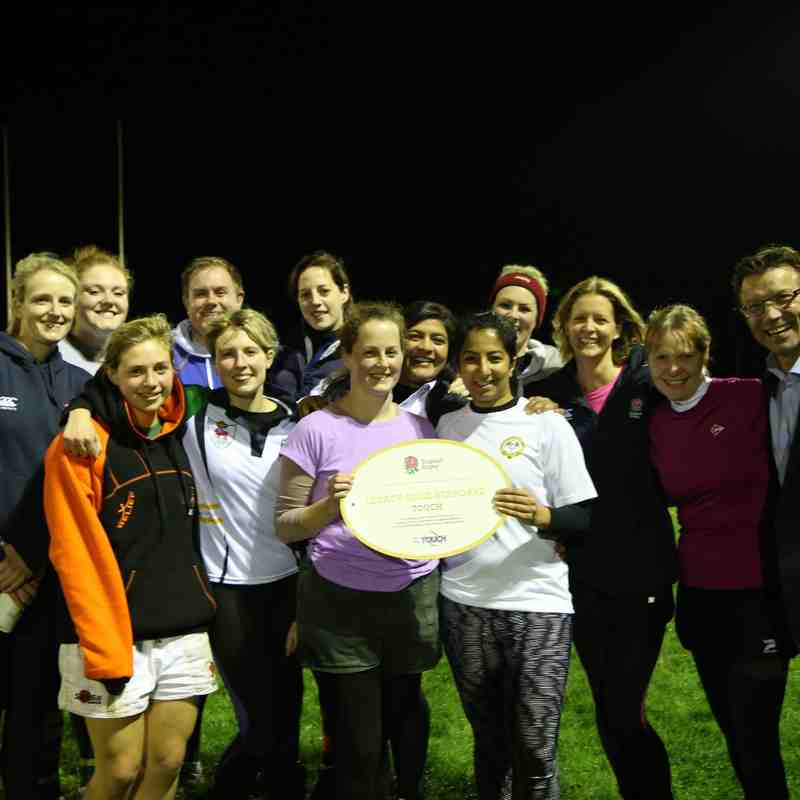 Touch Rugby Gold Standard Award