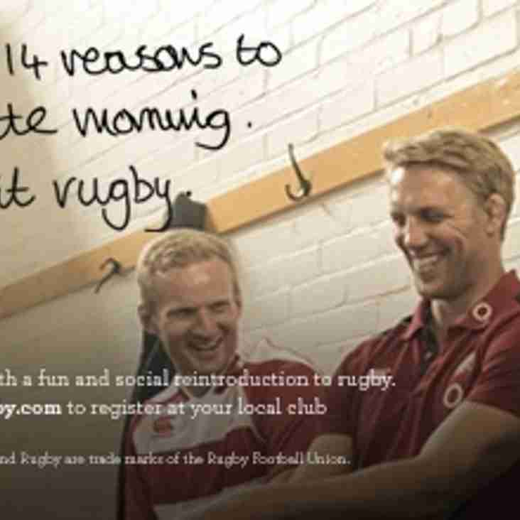 "Marlow RUFC Launches RFU ""Return to Rugby"" Programme"