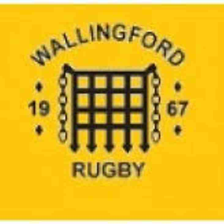 Bonus Point Win For 1st XV at Wallingford - We regain top spot in the league