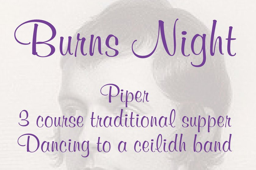 Burns Night -  Friday 26th January - SOLD OUT