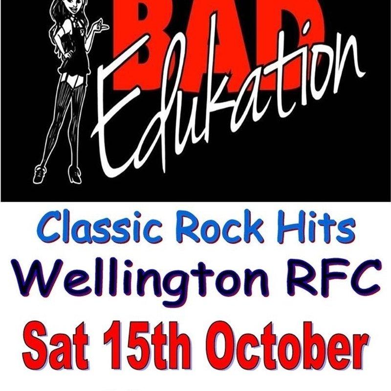 Bad Edukation @ WRFC Sat 15th Oct'16
