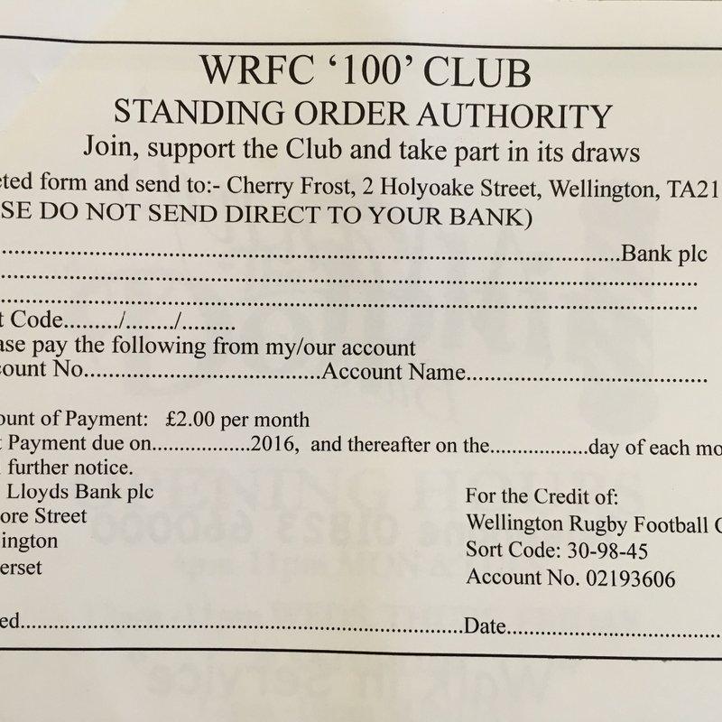 WRFC '100' Club