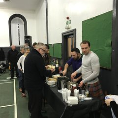 Touch rugby and Christmas Ceilidh 2016