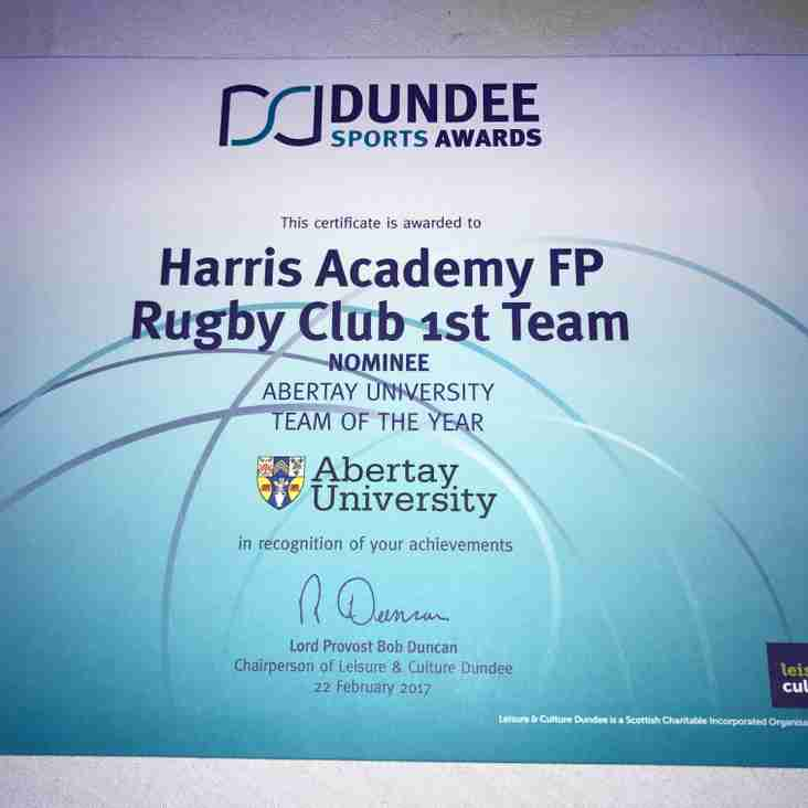 Dundee Sports Awards 2017