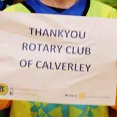 Rotary Club of Calverley Kickstart our U6's!