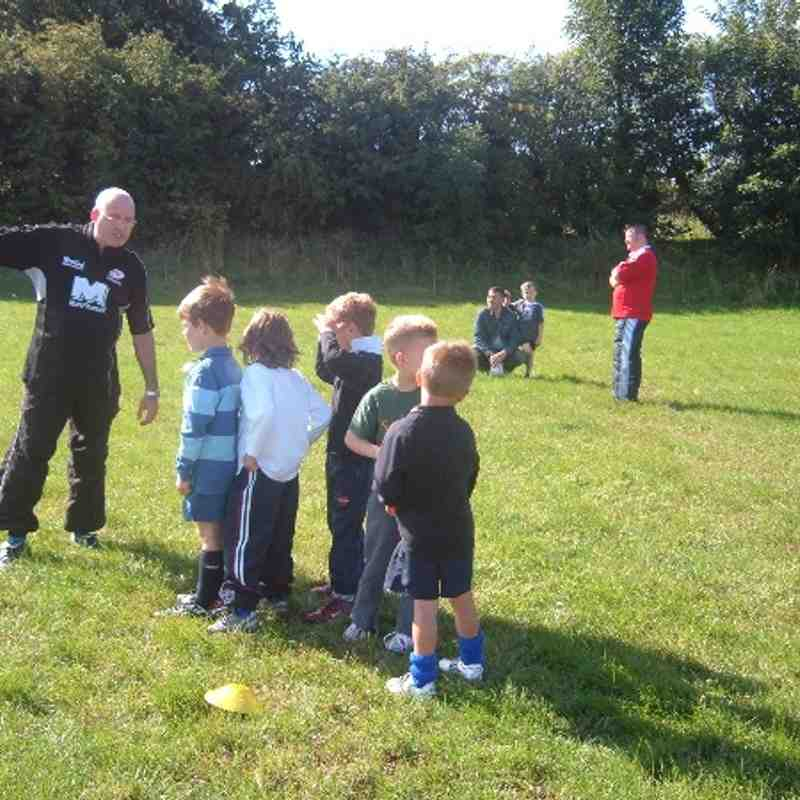 Blast from the past  -  September 2006 under 6's first taste of Rugby
