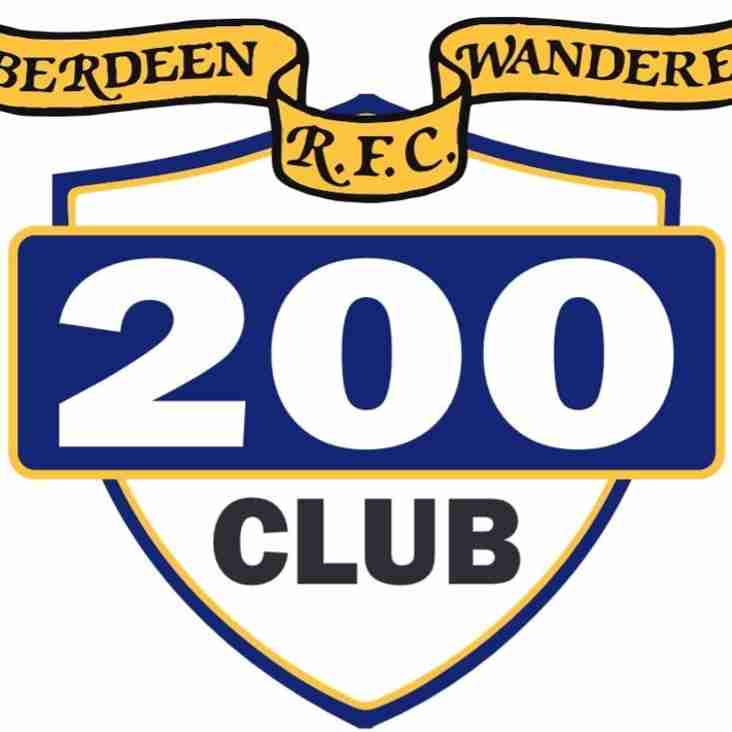 200 Club Draw