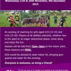 Wanderers Girls to attend Grampian Girls Hub