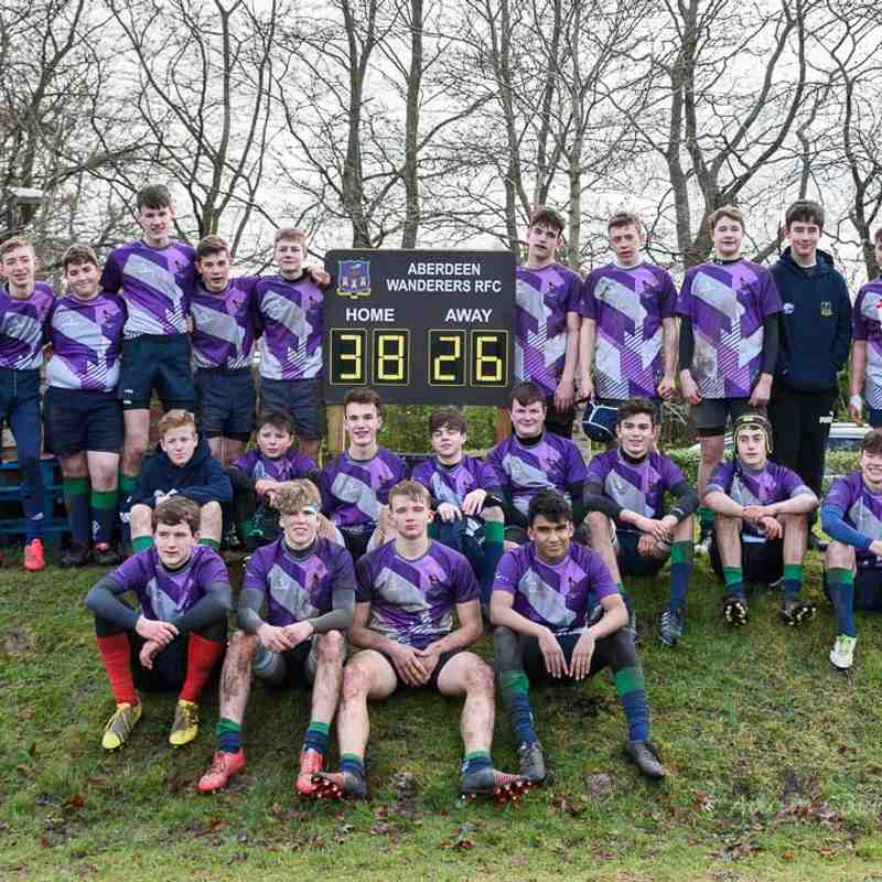 Granite City Colts U15 v Mackie U15 - 22nd Jan 2017