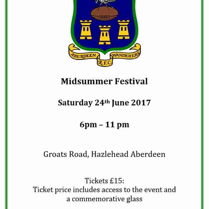 Aberdeen Wanderers Midsummer Festival