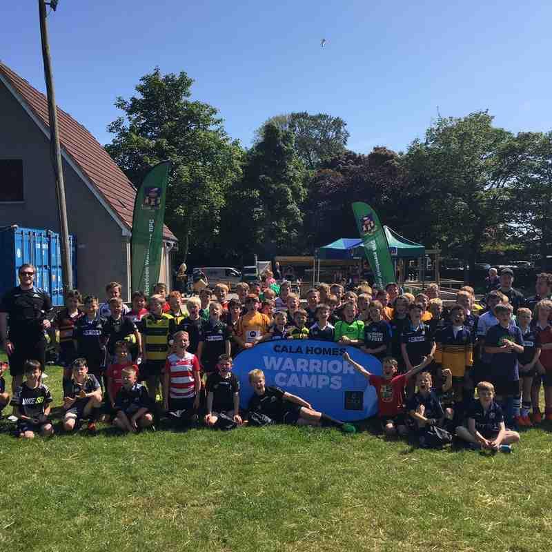 Glasgow Warriors Camp - July 2017
