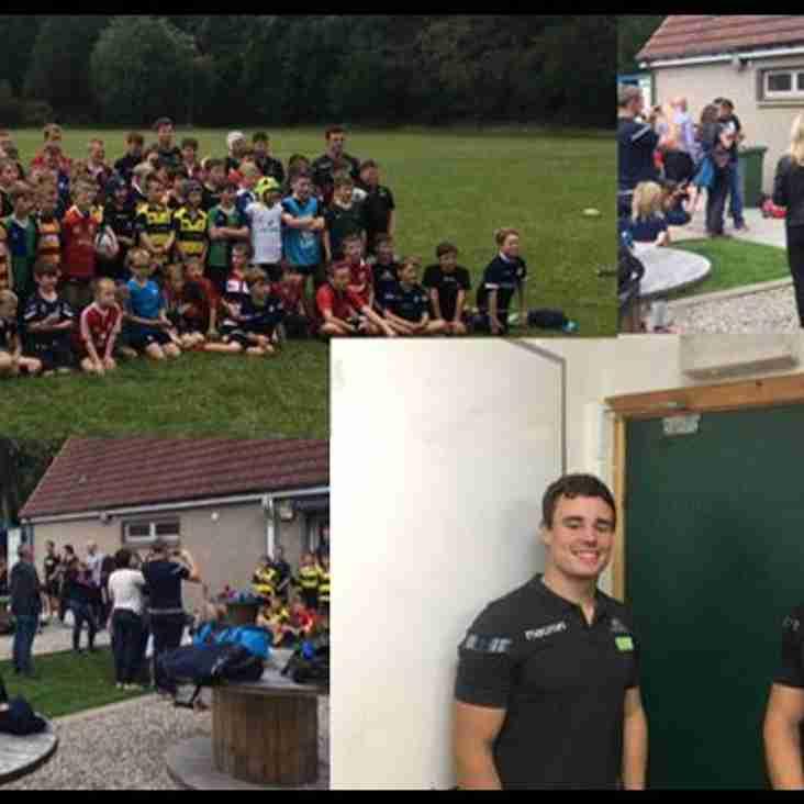 Successful Glasgow Warriors Camp in Aberdeen