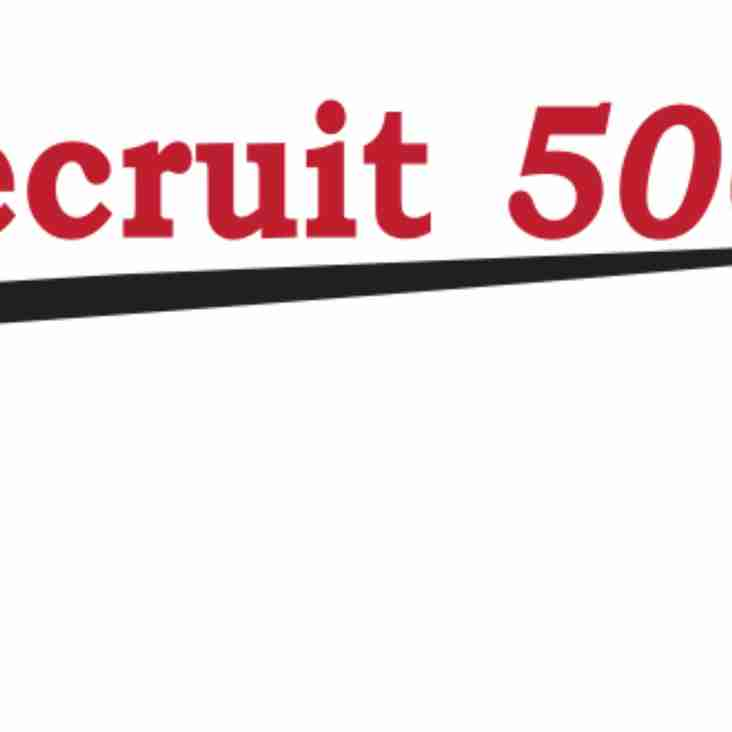 Recruit 500 sponsor 1st team Polo Shirts