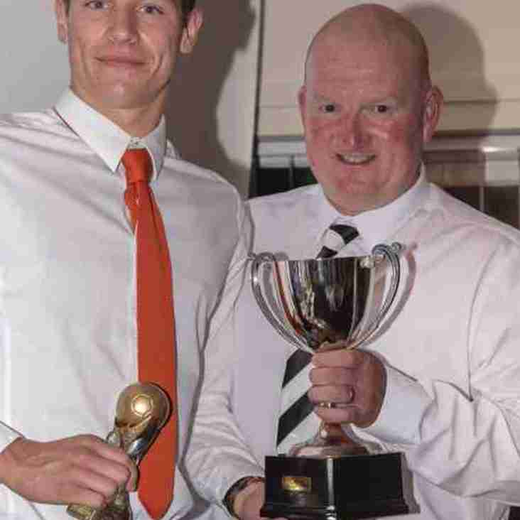 Reserves mangers player of the year