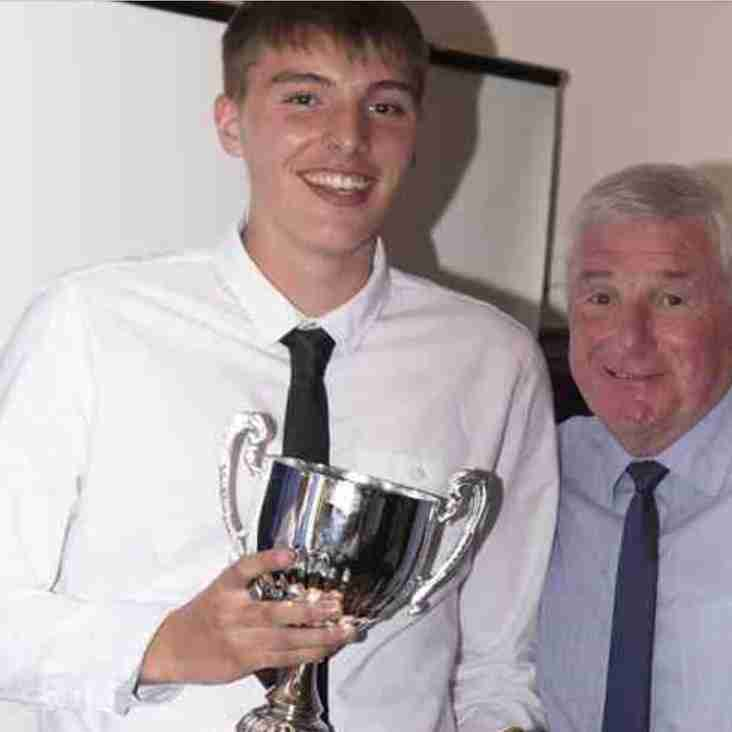 U18s supporters player of the year