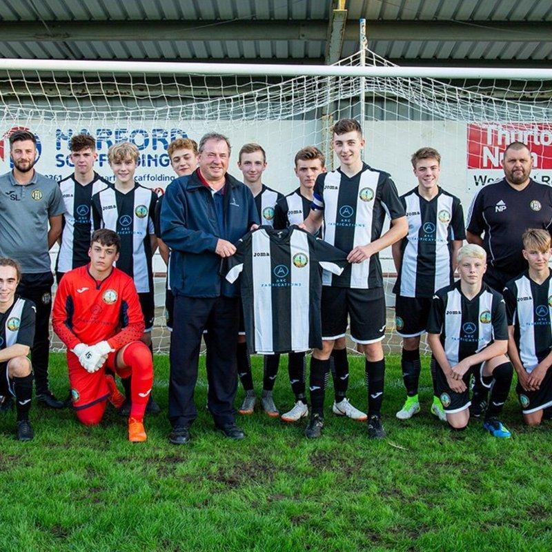 U18 beat Aylsham u18s  6 - 3