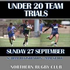 Melbourne Rebels U20 Team Trials
