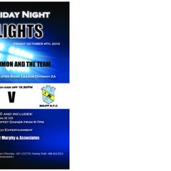Friday Night Lights 4th October 2013
