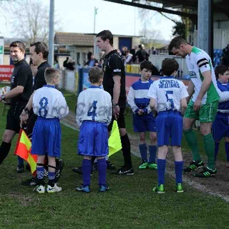 Chippenham Town V Biggleswade at Home Match Pictures