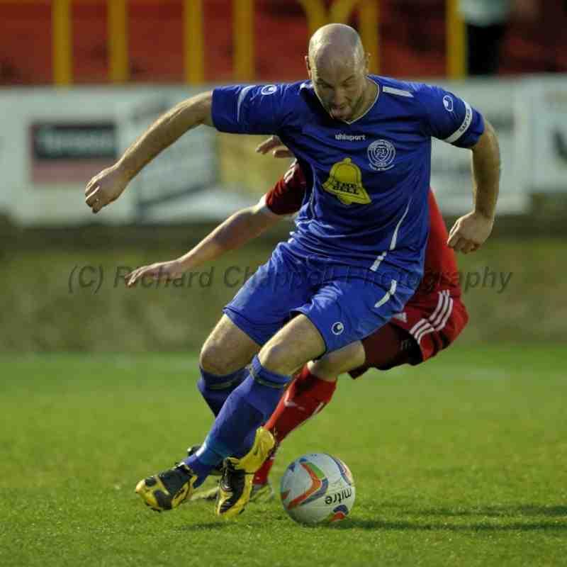 Chippenham Town V Hemel Hempstead Away Match Pictures