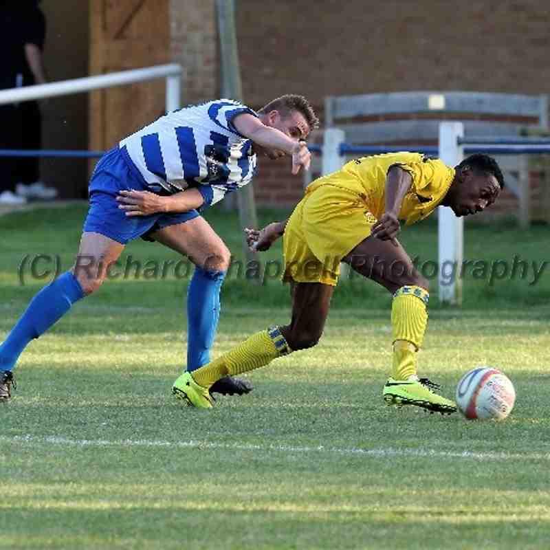 Chippenham Town V Shrivenham FC Away Match Pictures